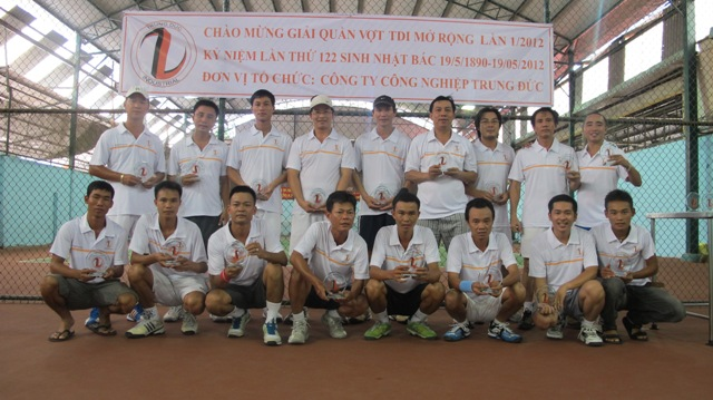 TDI Tenis Open 2012 (the first time)